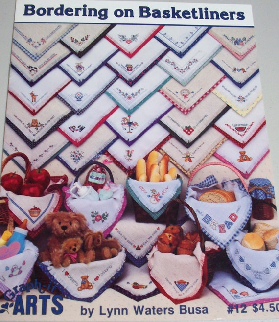 Jan Hagara Cross Stitch: Bordering On Basketliners Counted Cross Stitch Pattern Leaflet