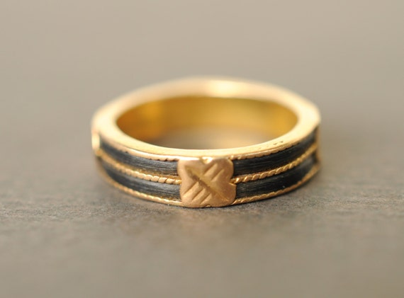 Elephant Hair Gold Ring Designs