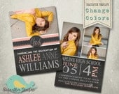 Graduation Announcement Templates - Senior Graduation 19