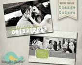 Wedding Announcement Templates and Save the Date - Wedding Announcement 12