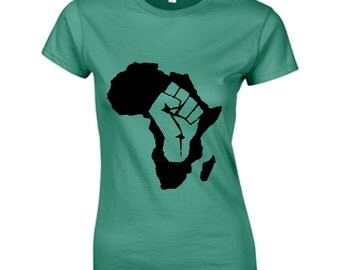 African Power, afro t-shirt, natural hair T-shirt , graphic t-shirt,ethnic t-shirt , rasta t-shirt , afro tank top , afro crop to