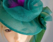 Couture Doll Hat, BJD, OOAK doll hat, Handmade, Susan Lake