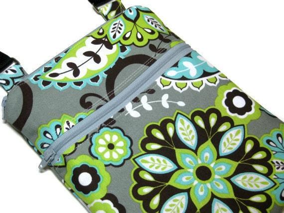 Grey blue green cross body purse sling bag adjustable strap shoulder vacation travel wallet hobo hipster shopping small