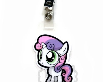 Sweetie Belle Chibi Badge