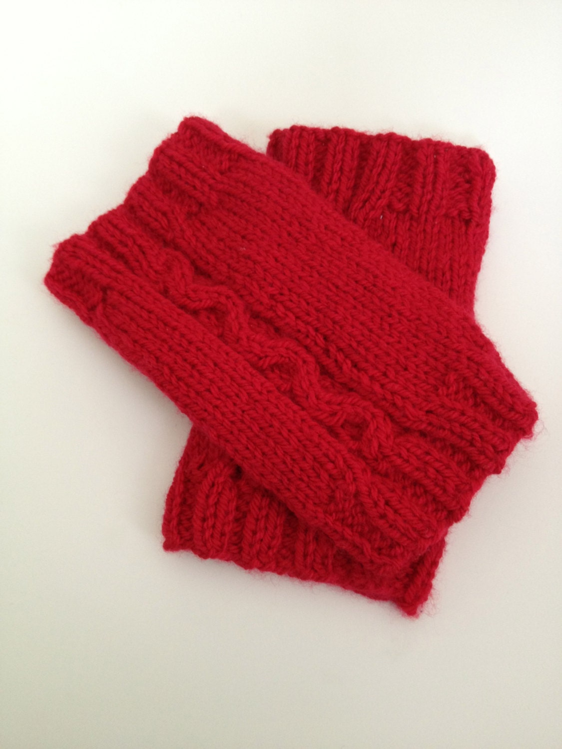 Cable Leg Warmers Knitting Pattern : Cabled Leg Warmer Knitting Pattern, PDF, Sizes from 1 to 4yrs, instant downlo...