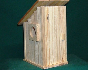 Bird house kit etsy out house bird house kit solutioingenieria Images