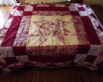 cranberry fairy quilt