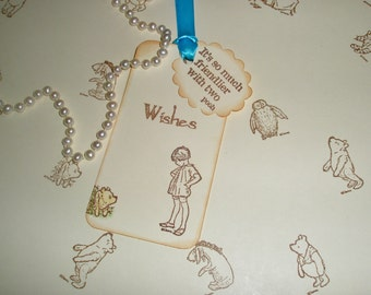 Winnie the Pooh wish tags-Wedding Wish Tree tags-Baby shower-Wedding wishes