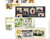 INSTANT DOWNLOAD - Facebook Timeline Cover Collection - Easter timelines - E741