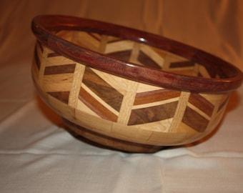 Large Segmented/Inlay Bowl