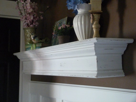 custom order for susan lord white mantle 48l