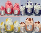 Sweet  bundle of  3 Cupcake Jar Candles