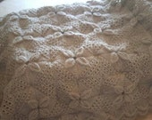 "1"" scale dollshouse Heirloom Counterpane PDF pattern (Experienced knitters)"