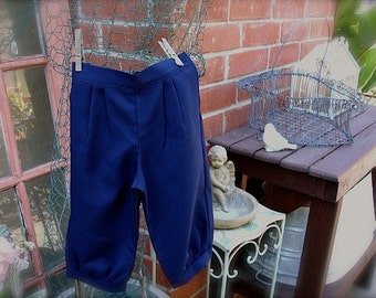 1-3yrs or 4-6yrs Admiral Navy  Blue knickers pants, little boy knickers, knicker pants, ringbearer knickers