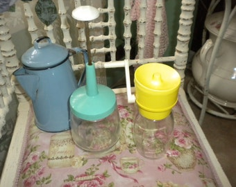 Retro Food Choppers, Primitive, Shabby Chic Kitchen, Country Kitchen, Eclectic Kitchen,French Kitchen