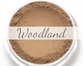 """Eyeshadow Sample - """"Woodland"""" - medium cool toned ashen brown/taupe color with matte finish (Vegan) Mineral Makeup Eye Color"""