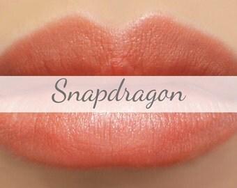 "Vegan Lipstick Sample - ""Snapdragon"" (pearly coral/peach color) lip tint, balm, lip colour, natural lipstick"