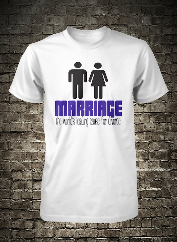 Funny Divorce Shirt Marriage T Shirt Hilarious Mens Tee Small