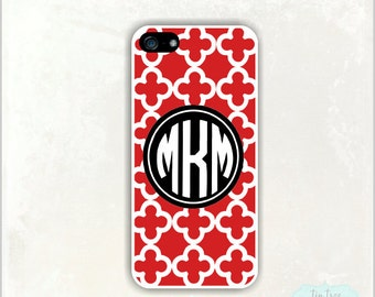 iPhone 5 Case - Bold Clubs, Personalized iPhone 5 Case,  Monogram iPhone cover, iPhone 4 Case