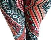 African Tribal Print Leggings