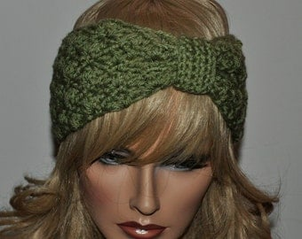 Free Crochet Pattern For Knotted Headband : Crochet Knot Headband Pattern galleryhip.com - The ...