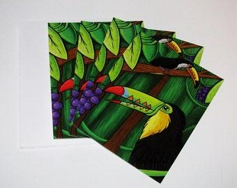 Toucan Time Postcards