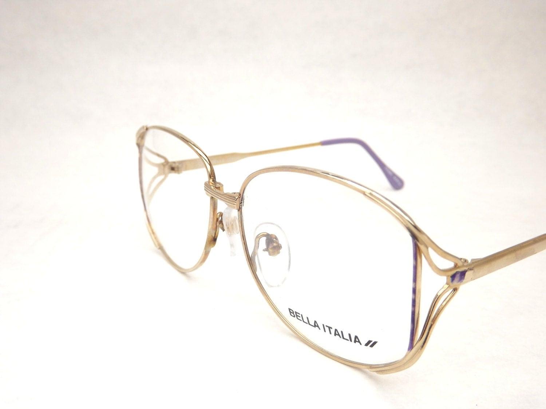 Gold Metal Eyeglass Frames : Womens Gold Eyeglasses Gold Metal Glasses Lavender Purple