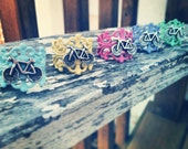 Stocking stuffer bicycle ring in 5 colors filigree adjustable