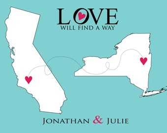 Love will find a way- Art Print