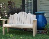 Adirondack Cypress Garden Bench