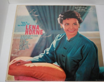 Lena Horne Album Songs by Burke and Van Heusen Recorded January 1959