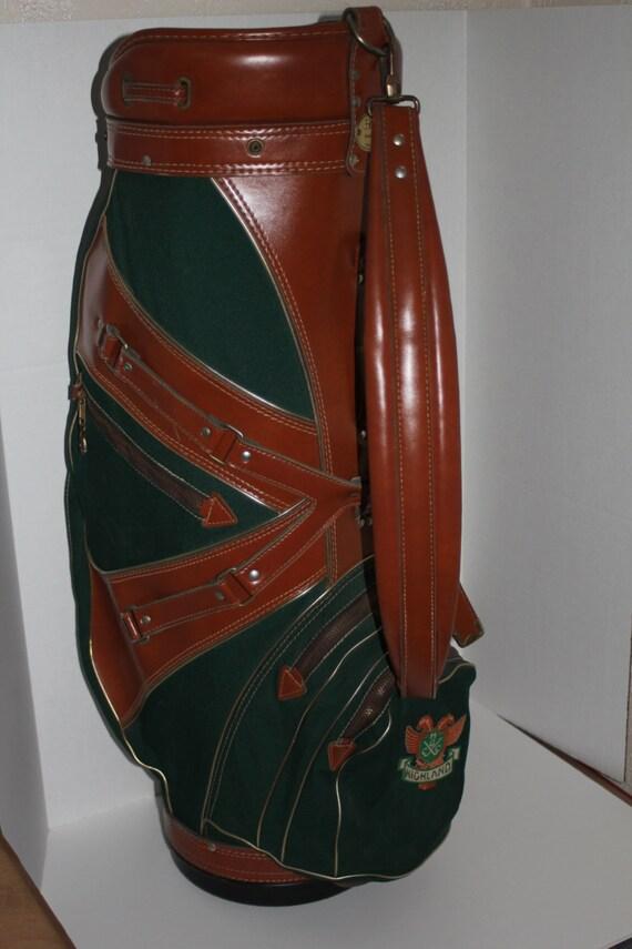 Vintage Golf Bag Tour Bag Hot Z Brand Bag Large Cart Golf Bag