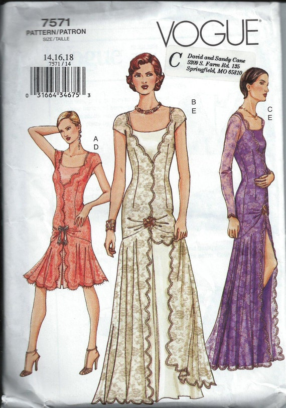 Gorgeous 1920 S Style Flapper Dress Pattern By