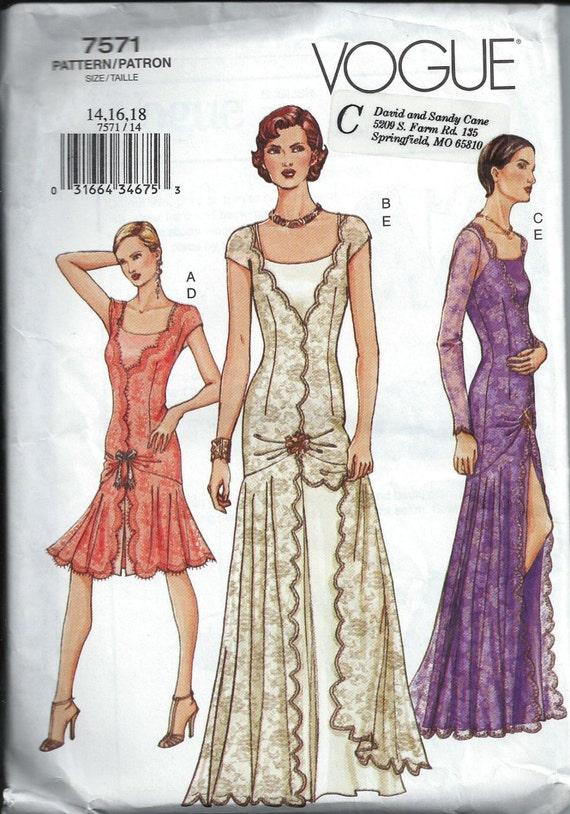 1920S Wedding Dress Sewing Patterns 32