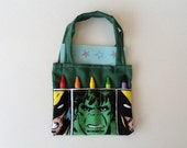 Incredible Hulk Children's Crayon Bag, Party Favor