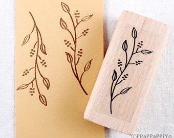 30% OFF SALE Flower pattern F02 Rubber Stamp