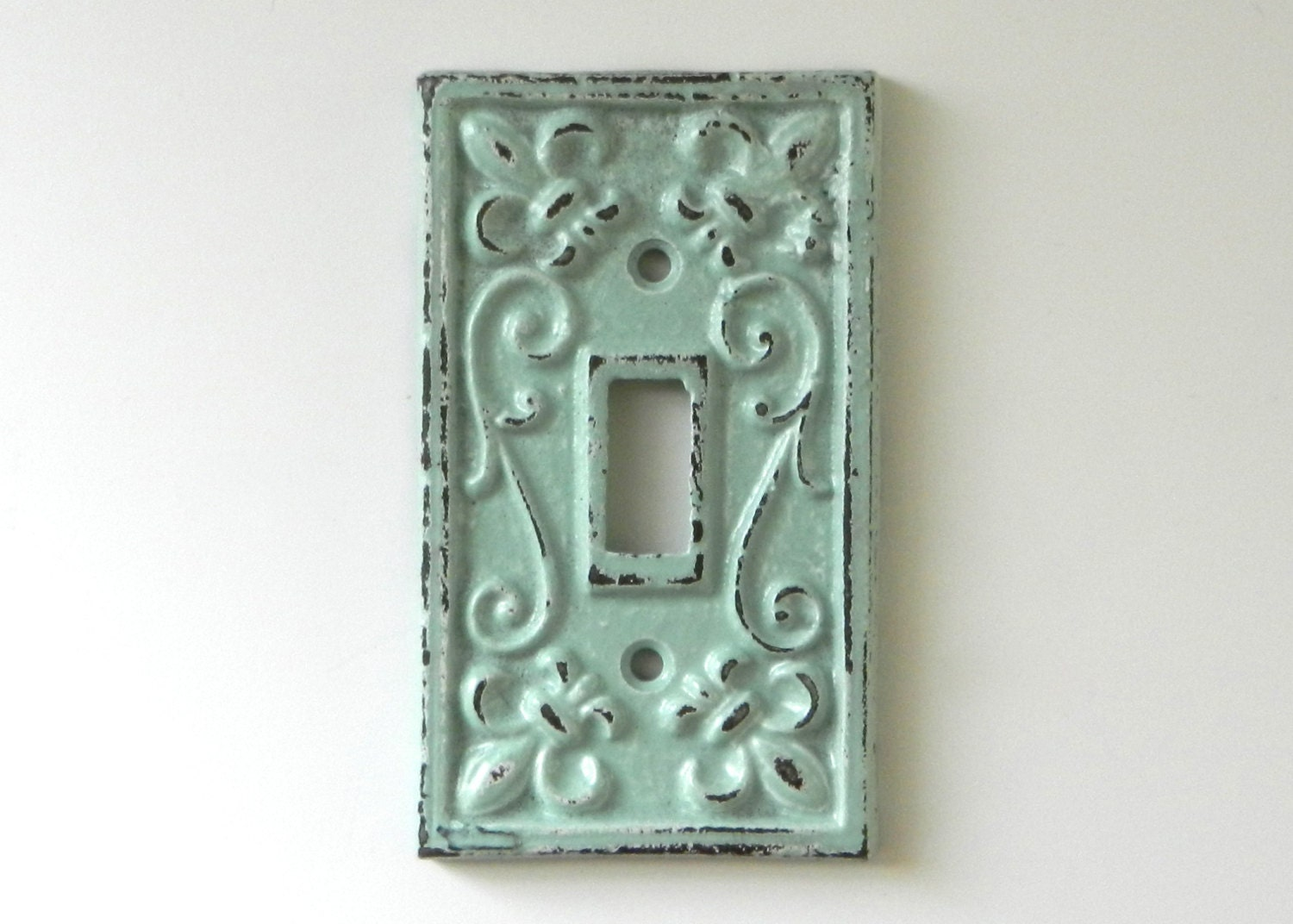 Shabby Chic Switchplate Cover Decorative Light By