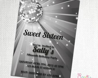 16th Party Invitation