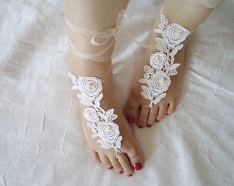 Wedding Shoes, Sandals, Sandal, pearl bridesmaid shoes, barefoot sandals, Bridesmaid gifts, flower girl gifts