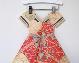 Paper Dress - Miss Paris Red