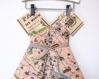 Paper Dress - Miss Paris Pink