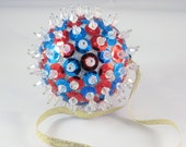 Sequined, Beaded Ornament