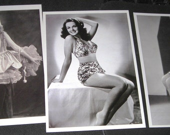 Pinup Poses....Hollywood Glamour Girls.... Jane Russell....Mary Pickford ...Dorothy Sebastian....Postcards