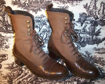 Laced Boots Charles David by Nathalia M. REDUCED