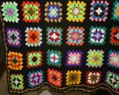 Granny Square Blanket/Afghan