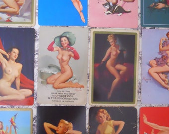 The Pin Up Collection- Vintage Playing Cards Pinup Girl Art