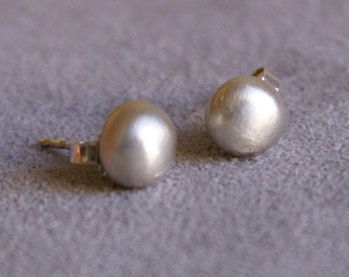 Drops Stud Earrings in Sterling Silver