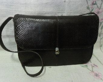 Vintage python bag