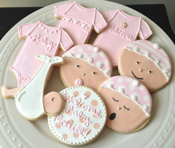 Items Similar To Decorated Personalized Baby Shower