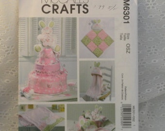 Bunny Sewing Pattern Diaper Cake Nursery Baby Shower
